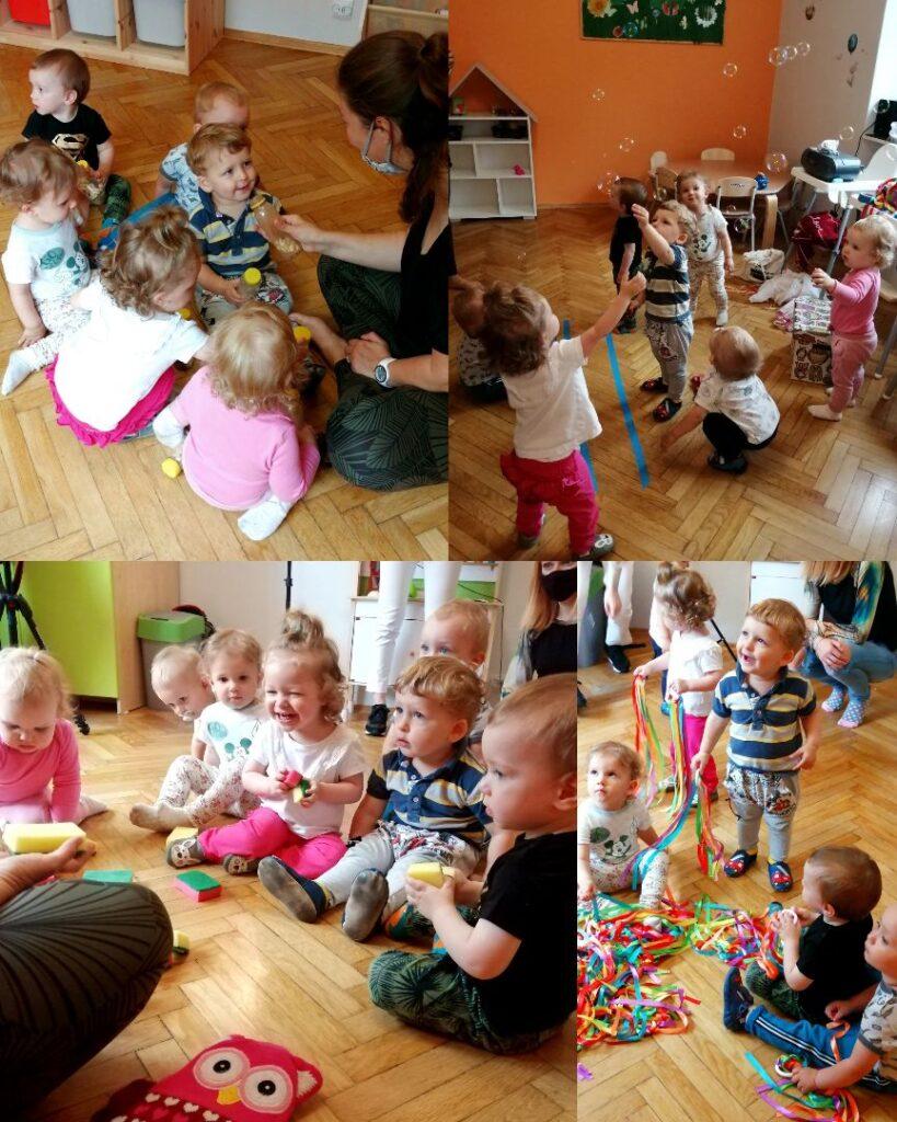 zajęcia multisensoryczne dzieci