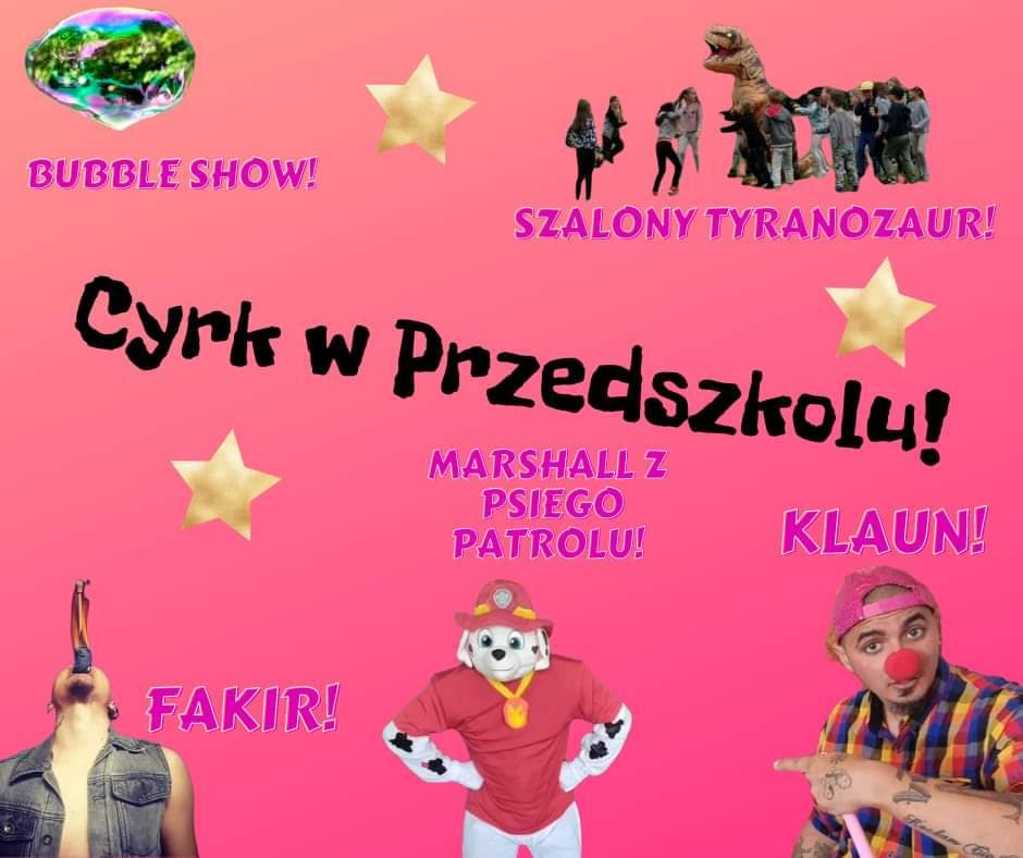cyrkowe show dla dzieci